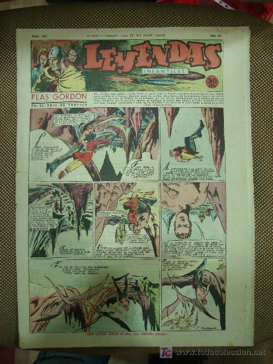 LEYENDAS INFANTILES. Nº 123. (Tebeos y Comics - Hispano Americana - Leyendas Infantiles)