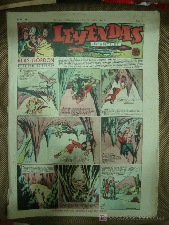 LEYENDAS INFANTILES. Nº 124. (Tebeos y Comics - Hispano Americana - Leyendas Infantiles)