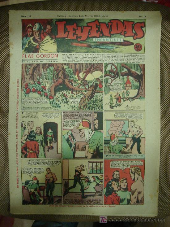 LEYENDAS INFANTILES. Nº 125. (Tebeos y Comics - Hispano Americana - Leyendas Infantiles)