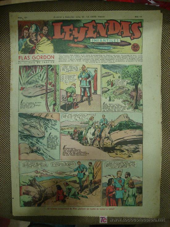 LEYENDAS INFANTILES. Nº 127. (Tebeos y Comics - Hispano Americana - Leyendas Infantiles)