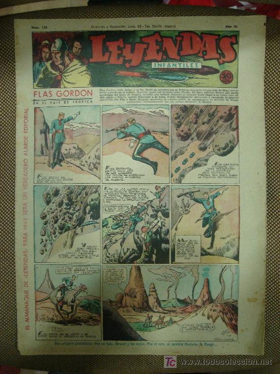 LEYENDAS INFANTILES. Nº 128. (Tebeos y Comics - Hispano Americana - Leyendas Infantiles)