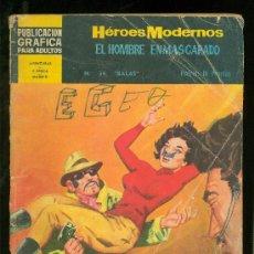 Tebeos: HEROES MODERNOS. II EPOCA. EL HOMBRE ENMASCARADO. Nº 34.. Lote 19721152