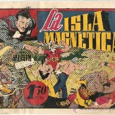 Tebeos: MERLIN EL REY DE LA MAGIA LA ISLA MAGNETICA. Lote 24296183