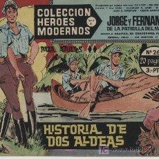 Tebeos: HÉROES MODERNOS SERIE C Nº 26. JORGE Y FERNANDO.. Lote 20167463