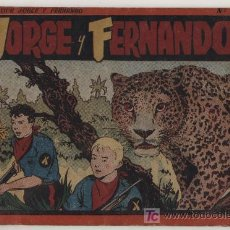 Tebeos: JORGE Y FERNANDO. ALBUM ROJO Nº 3. HISPANO AMERICANA.. Lote 20171511