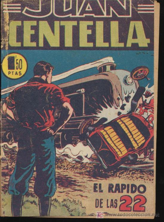 JUAN CENTELLA Nº 14. HISPANO AMERICANA 1951. (Tebeos y Comics - Hispano Americana - Juan Centella)