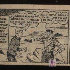 Tebeos: JORGE Y FERNANDO. HISPANO AMERICANA 1949. LOTE DE 19 EJEMPLARES DEL 42 AL 60. Lote 20720038