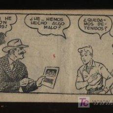 Tebeos: JORGE Y FERNANDO. HISPANO AMERICANA 1949. LOTE DE 20 EJEMPLARES DEL 1 AL 20. Lote 20720104