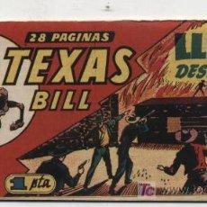 Tebeos: TEXAS BILL Nº 22. HISPANO AMERICANA 1949.. Lote 20720335