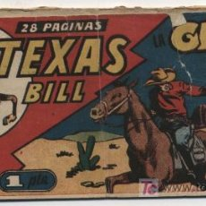 Tebeos: TEXAS BILL Nº 37. HISPANO AMERICANA 1949.. Lote 20720408