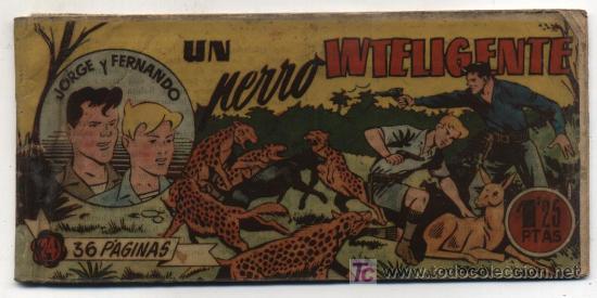 JORGE Y FERNANDO. HISPANO AMERICANA 1949. Nº 24. (Tebeos y Comics - Hispano Americana - Jorge y Fernando)