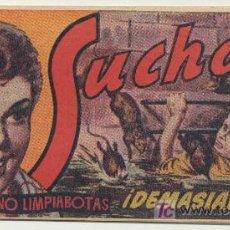 Tebeos: SUCHAI Nº 34. HISPANO AMERICANA 1949.. Lote 20735389