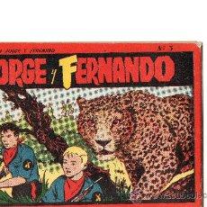 Tebeos - JORGE Y FERNANDO ALBUM ROJO Nº 3 EDITA HISPANO AMERICANA - 26262478