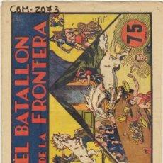 Tebeos: (COM-2073)COMIC CARLOS EL INTREPIDO EN EL BATALLON DE LA FRONTERA Nº5. Lote 21269874