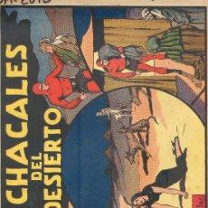Tebeos: (COM-2092)COMIC CON EL HOMBRE ENMASCARADO EN EL LOS CHACALES DEL DESIERTO. Lote 21269984