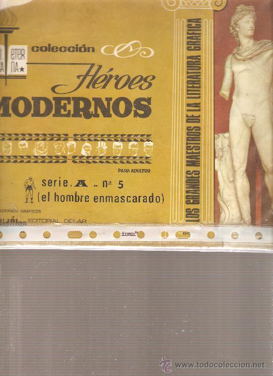 EL HOMBRE ENMASCARADO - COLECCION HEROES MODERNOS - SERIE A NUMERO 5 (Tebeos y Comics - Hispano Americana - Hombre Enmascarado)