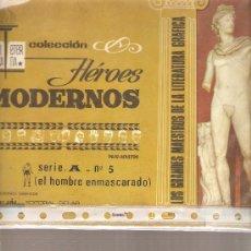 Tebeos: EL HOMBRE ENMASCARADO - COLECCION HEROES MODERNOS - SERIE A NUMERO 5. Lote 21471128