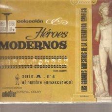 Tebeos: EL HOMBRE ENMASCARADO - COLECCION HEROES MODERNOS - SERIE A NUMERO 4. Lote 27464307
