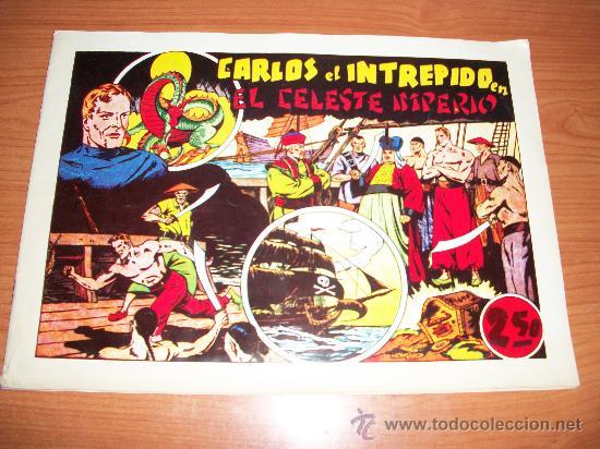 CARLOS EL INTREPIDO EL CELESTE IMPERIO EXTRA DE LAS GRANDES AVENTURAS HISPANO AMERICANA FACSIMIL (Tebeos y Comics - Hispano Americana - Carlos el Intrépido)