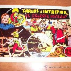 Tebeos: CARLOS EL INTREPIDO EL CELESTE IMPERIO EXTRA DE LAS GRANDES AVENTURAS HISPANO AMERICANA FACSIMIL. Lote 21652595
