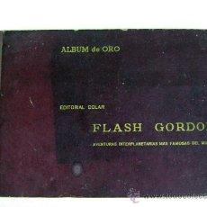 Tebeos: ANTIGUO FLASH GORDON ALBUM DE ORO EDITORIAL DÓLAR ENCUADERNACION DE EPOCA 1958 COMPLETO. Lote 26634700