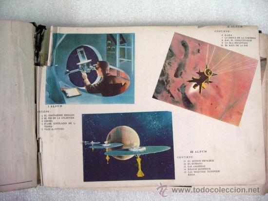 Tebeos: ANTIGUO FLASH GORDON ALBUM DE ORO EDITORIAL DÓLAR ENCUADERNACION DE EPOCA 1958 COMPLETO - Foto 3 - 26634700