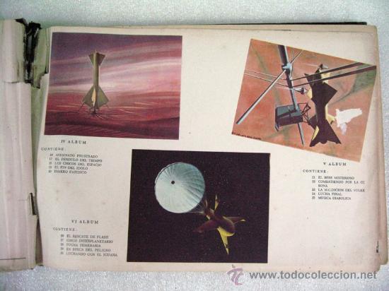 Tebeos: ANTIGUO FLASH GORDON ALBUM DE ORO EDITORIAL DÓLAR ENCUADERNACION DE EPOCA 1958 COMPLETO - Foto 2 - 26634700