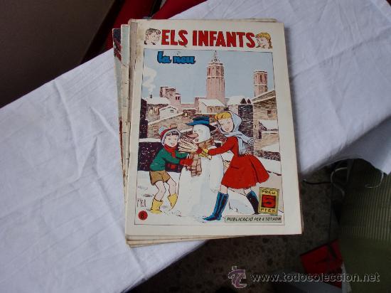 INFANTS ELS Nº1-2-3-6-8- ORIGINAL (Tebeos y Comics - Hispano Americana - Otros)