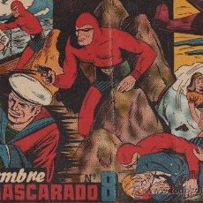 Tebeos: EL HOMBRE ENMASCARADO ALBUM ROJO Nº 8 DE HISPANO AMERICANA . Lote 27199844
