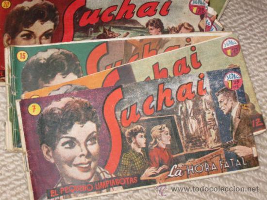 SUCHAI. EL PEQUEÑO LIMPIABOTAS. 26 NÚMEROS (VER LISTA EN LA DESCRIPCIÓN). TEBEO ORIGINAL (Tebeos y Comics - Hispano Americana - Suchai)