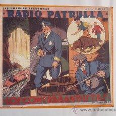 Tebeos: RADIO PATRULLA, LOS CONTRABANDISTAS , Nº 4 , ORIGINAL, TIM TYLER, LEER DESCRIPCION.. Lote 26570425