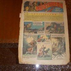 Tebeos: AVENTURERO Nº 93, 15 CÉNTIMOS, EDITORIAL HISPANO AMERICANA. Lote 26800887