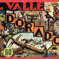 Tebeos: EL VALLE DORADO, JORGE Y FERNANDO, HISPANO AMERICANA , Nº 16. Lote 22723424