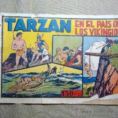 Tebeos: COMIC, TARZAN, EN EL PAIS DE LOS VIKINGIOS, ORIGINAL, HISPANO AMERICANA, RARO. Lote 22786809