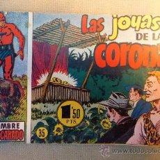 Tebeos: COMIC, HISPANO AMERICANA, ORIGINAL, Nº 35, EL HOMBRE ENMASCARADO, LAS JOYAS DE LA CORONA, UNICO. Lote 22805799