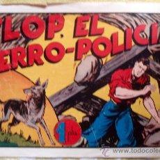 Tebeos: JUAN CENTELLA, FLOP EL PERRO POLICIA, HISPANO AMERICANA , GRANDE. Lote 22836987