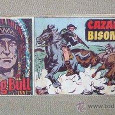 Tebeos: COMIC, SITTING BULL, EDITORIAL HISPANO AMERICANA, Nº 56, ORIGINAL, CAZANDO BISONTES. Lote 22846452