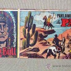 Tebeos: COMIC, SITTING BULL, EDITORIAL HISPANO AMERICANA, Nº 41, ORIGINAL, PARLAMENTARIOS DE PAZ,. Lote 22846512