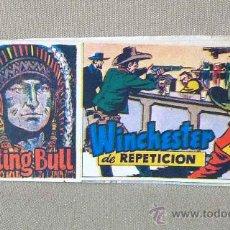 Tebeos: COMIC, SITTING BULL, EDITORIAL HISPANO AMERICANA, Nº 61, ORIGINAL, WINSCHESTER DE REPETICION. Lote 22846655