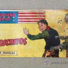 Tebeos: COMIC, EL PEQUEÑO SHERIFF, EDITORIAL HISPANO AMERICANA, Nº54, ORIGINAL, LOS PROSCRITOS. Lote 22848115
