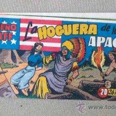 Tebeos: COMIC, EL PEQUEÑO SHERIFF, EDITORIAL HISPANO AMERICANA, Nº 20, ORIGINAL, LA HOGUERA DE LOS APACHES. Lote 22848717