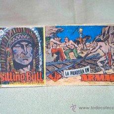 Tebeos: COMIC, SITTING BULL, ORIGINAL, LA PRADERA EN ARMAS, Nº 35, HISPANO AMERICANA. Lote 22911238