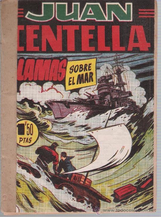JUAN CENTELLA Nº 20. (17X12) HISPANO AMERICANA 1951. (Tebeos y Comics - Hispano Americana - Juan Centella)
