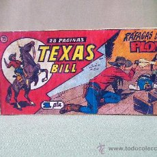 Tebeos: COMIC,TEXAS BILL, Nº 79, EDITORIAL HISPANO AMERICANA, RAFAGAS DE PLOMO. Lote 22947990