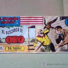 Tebeos: COMIC, EL PEQUEÑO SHERIFF, Nº 115 , EL BUSCADOR DE ORO, EDICIONES HISPANO AMERICANA,. Lote 22948258