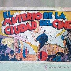Tebeos: COMIC, ORIGINAL, EL MISTERIO DE LA CIUDAD DEL CINE, JUAN CENTELLA, HISPANO AMERICANA. Lote 22952832