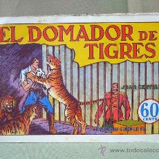Tebeos: COMIC, ORIGINAL, JUAN CENTELLA, HISPANO AMERICANA, EL DOMADOR DE TIGRES, EPISODIO COMPLETO, Nº 11. Lote 22955512