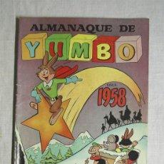 Tebeos: ALMANAQUE 1958 YUMBO. Lote 27300214