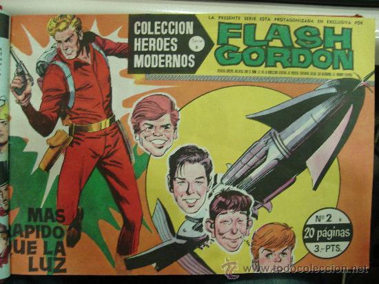 COMICS TEBEOS FLASH GORDON. COLECCION HEROES MODERNOS. SERIE B. 22 NUMEROS. (Tebeos y Comics - Hispano Americana - Flash Gordon)