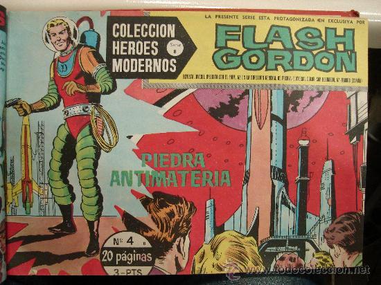 Tebeos: COMICS TEBEOS FLASH GORDON. COLECCION HEROES MODERNOS. SERIE B. 22 NUMEROS. - Foto 4 - 26114131